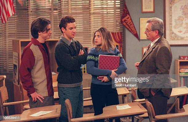 WORLD Now that they are in their senior year Cory and Shawn figure they no longer have to turn in homework But their new assignment from Feeny is...