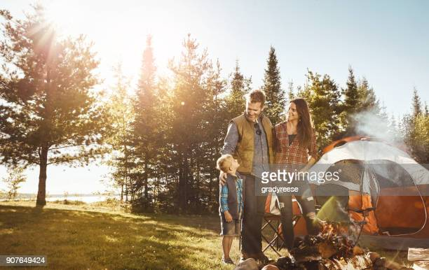 now that we've completed the fire, what next? - camping stock photos and pictures