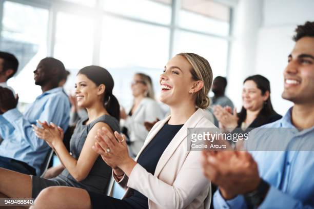 now that's something to get excited about - conference stock pictures, royalty-free photos & images