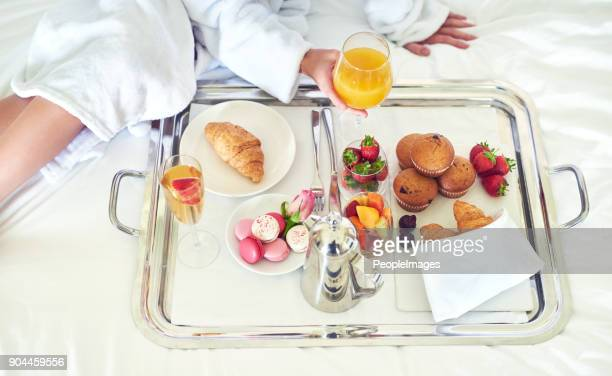 now that's what i call breakfast! - mimosa stock pictures, royalty-free photos & images