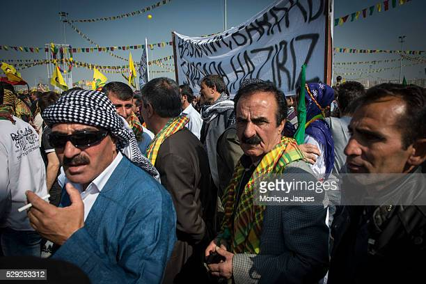 Nowruz festivities in Diyarbakir Turkey on March 21st 2013 This celebration in particular is important as imprisioned PKK leader Abdullah ��calan...