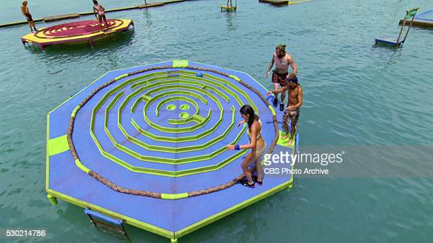 Now's the Time to Start Scheming Joseph Del Campo Cydney Gillon Michele Fitzgerald Tai Trang and Kyle Jason during the twelfth episode of SURVIVOR...