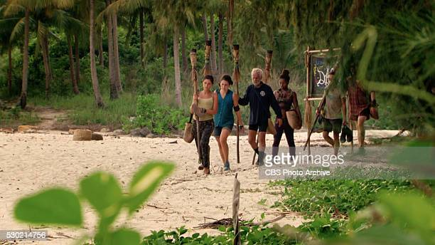 Now's the Time to Start Scheming Michele Fitzgerald Aubry Bracco Joseph Del Campo Cydney Gillon and the rest of the Survivors head to Tribal Council...