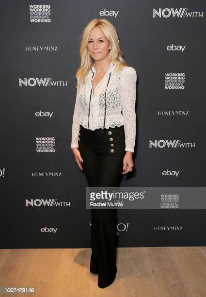 NowWith Network/Working Sundays Nicole Winnaman attends the launch of NowWith presented by Yahoo Lifestyle and Working Sundays celebrating the series...