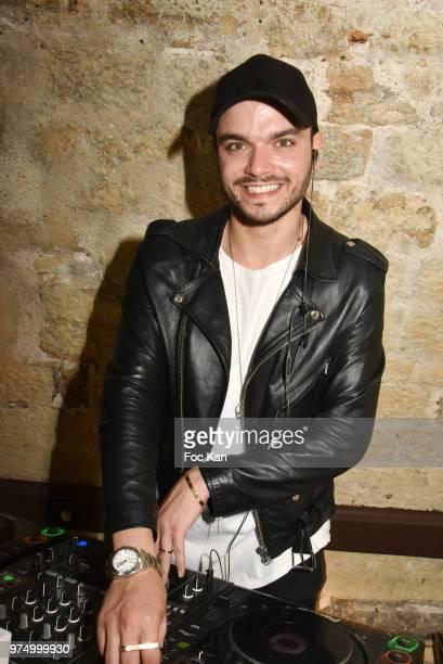 Noyz performs during the Archiman Men Body Care Launch Party at 22 Rue de L'Universite on June 14 2018 in Paris France