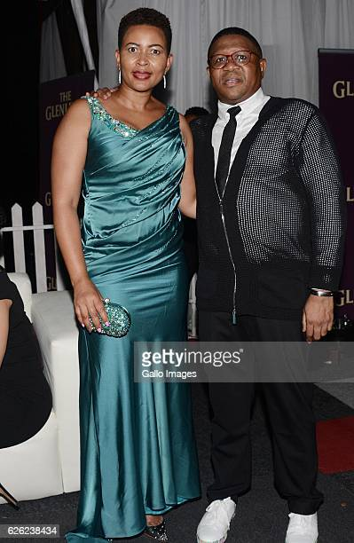 Nozuko Mbalula and Fikile Mbalula during the SA Sports Awards on November 27 2016 in Bloemfontein South Africa The 2016 SA Sport Awards recognise...