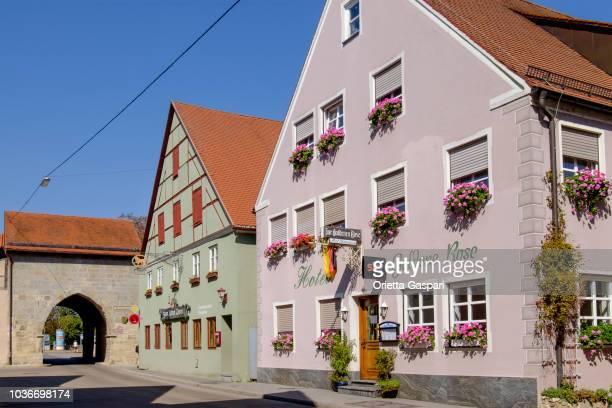 Nördlingen, Baldinger Tor (Bavaria, Germany)