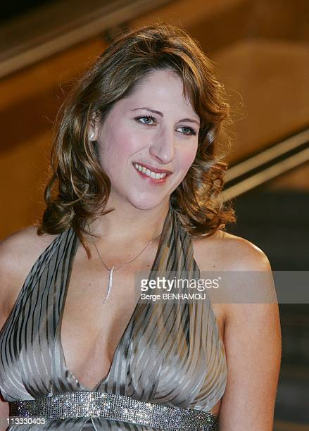 Nrj Music Awards In Cannes France On January 26 2008 Maud Fontenoy