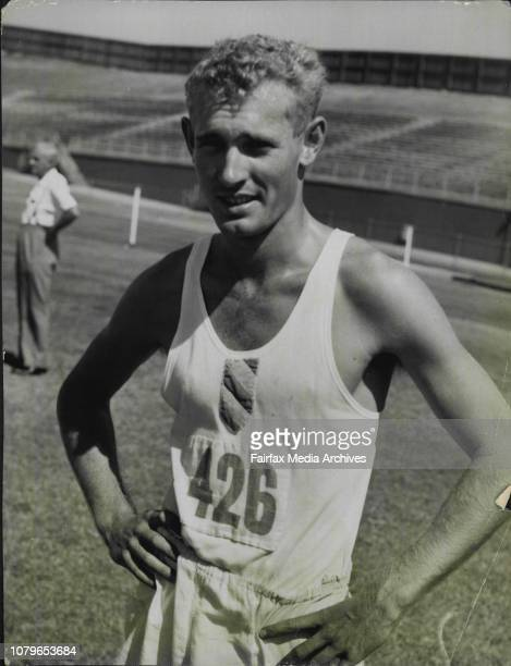 Delathon Champ T Rothwell March 31 1957