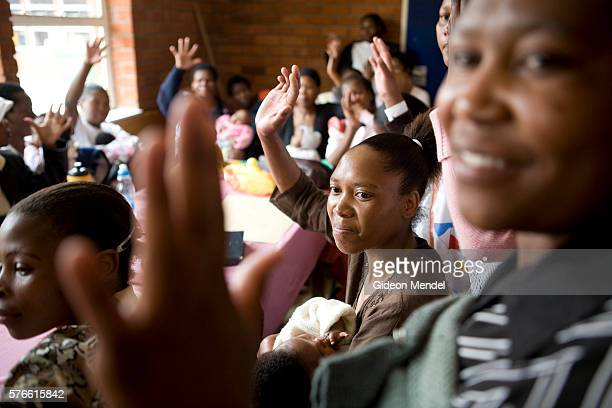 Ntsiuoa Ralefifi aged 29 participates in a Mothers2Mothers support group for HIV positive mothers in Mafeteng hospital When she found out she was HIV...