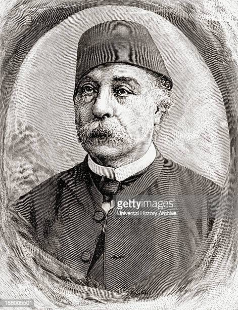Nubar Pasha 1825 To 1899 Egyptian Politician And First Prime Minister Of Egypt From In Darkest Africa By Henry M Stanley Published 1890