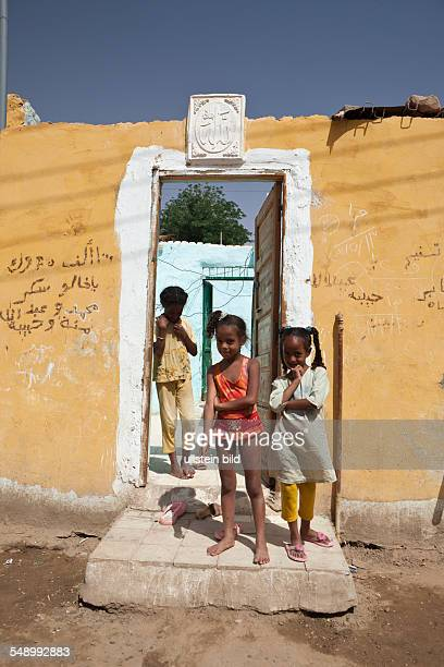 Nubian Village on Elephantine Island, Aswan, Egypt