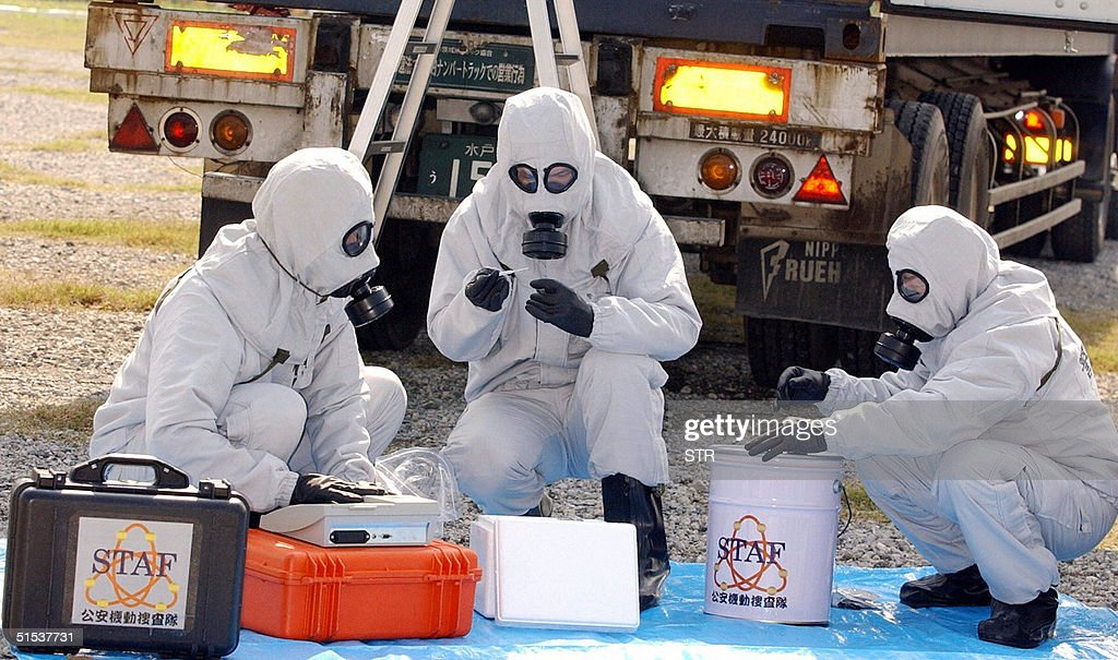 Nuclear, Biological and Chemical (NBC) s : News Photo