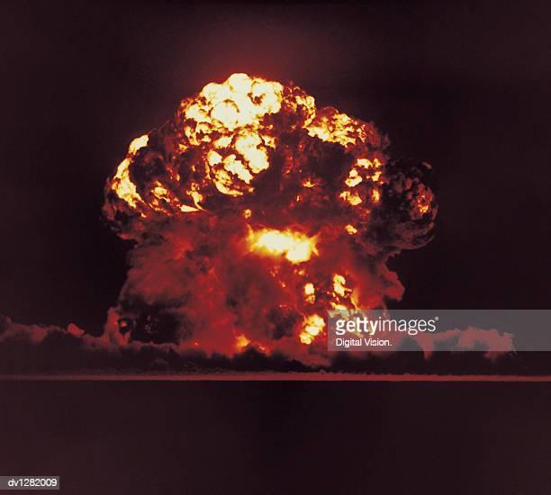 Nuclear Bomb Test, Nevada, August 18 1957