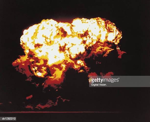 Nuclear Bomb Test, Nevada, July 24 1957