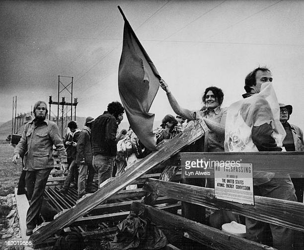 APR 29 1978 APR 30 1978 Nuclear Development Opposed by Protesters At Rockey flats weapons plant Demonstration at the Rocky Flats Weapons plant...