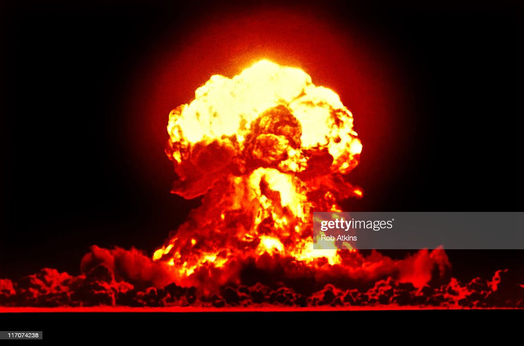 Nuclear Explosion : Stock Photo
