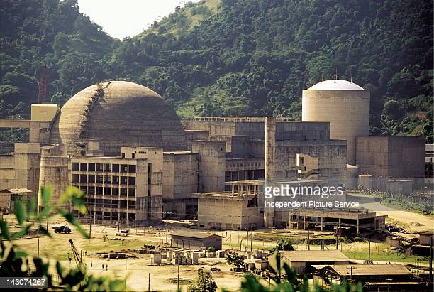 Nuclear Power Plant at Angra dos Reis Brazil