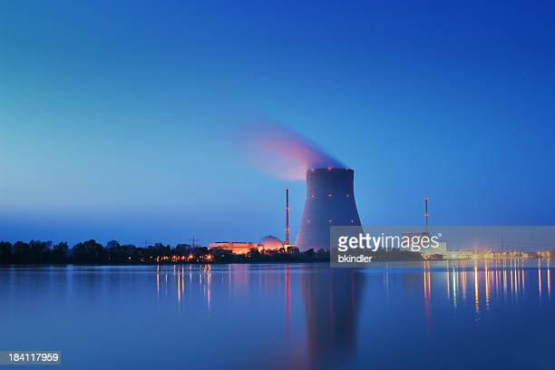 nuclear power plant - nuclear power station stock pictures, royalty-free photos & images