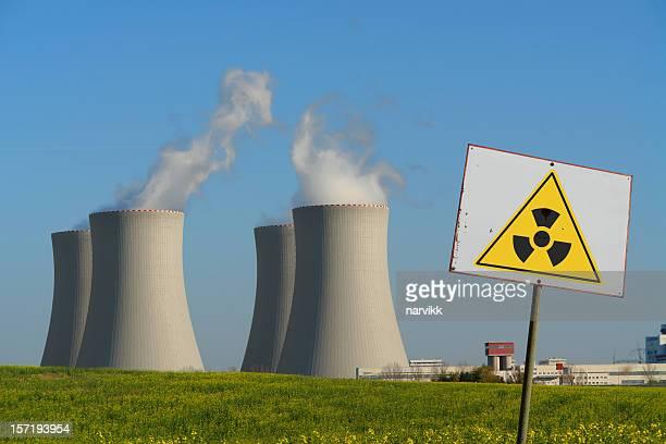 原子力発電所、放射線のサイン
