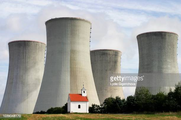 Nuclear power station Dukovany, Trebic district, Czech Republic