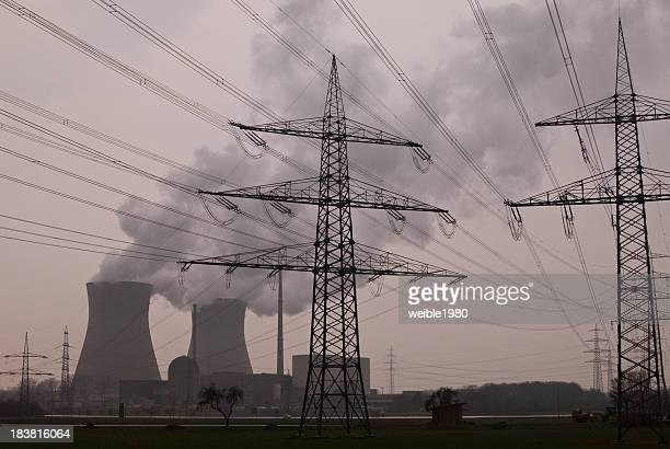 Nuclear Power Station Germany