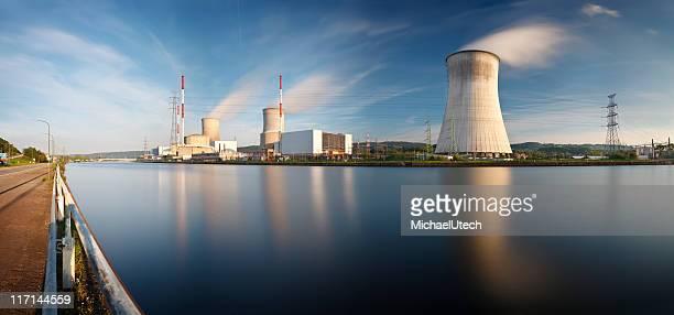 Centrale nucléaire longue exposition