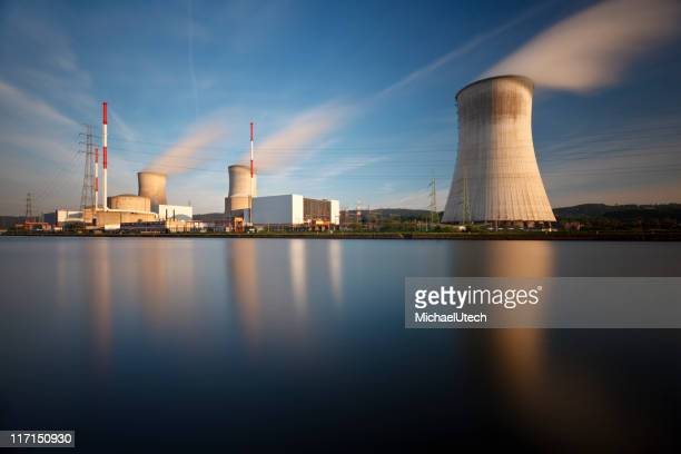 Nuclear Power Station Long Exposure