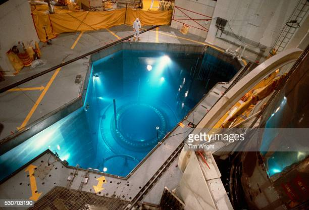 Nuclear Reactor and Cooling Pool