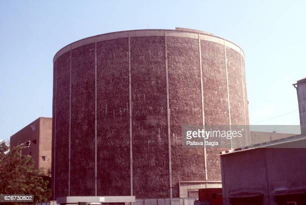 Nuclear reactor vessel at the Madras Atomic Power Plant at Kalpakkam Photo by Pallava Bagla/Corbis Sygma