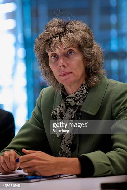 Nuclear Regulatory Commission Chairman Allison Macfarlane pauses during an interview in New York US on Monday Dec 16 2013 There's only so long people...