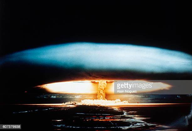 Nuclear testing in Mururoa
