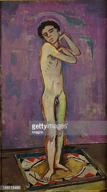 Nude boy Canvas Around 1920 813 x 46 cm PLEASE NOTE for this image artist´s rights have to be cleared additionally to the photographic rights Please...