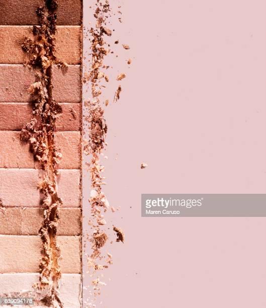 nude color pressed powder makeup - ヌードカラー ストックフォトと画像