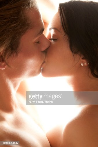 Nude Couple Kissing Photo - Getty Images-9361