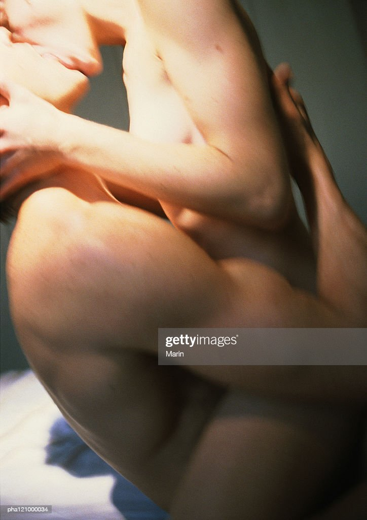 Nude Couple Kissing Side View Closeup Photo  Getty Images-6357