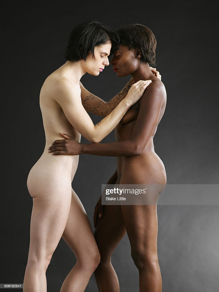 Nude Female Couple 34 Studio Stock Photo  Getty Images-1160