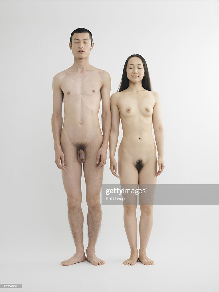 Nude Woman And Men