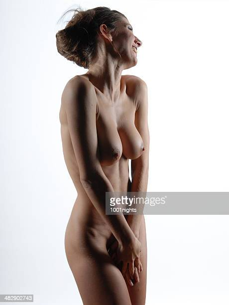 nude - naturism stock photos and pictures