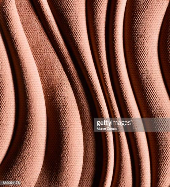 nude pressed powder makeup - textile stock pictures, royalty-free photos & images