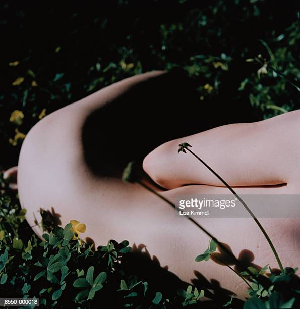 Nude Woman in Clover