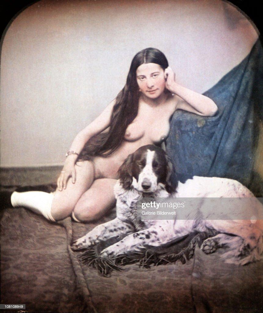 Hand-colored Daguerreotype : Fotografia de notícias