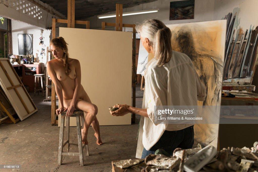 Women Nude Modeling 115