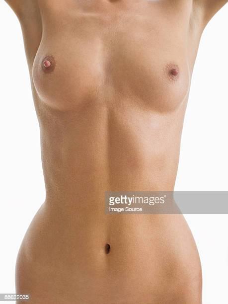nude woman - nackte frau brüste stock-fotos und bilder