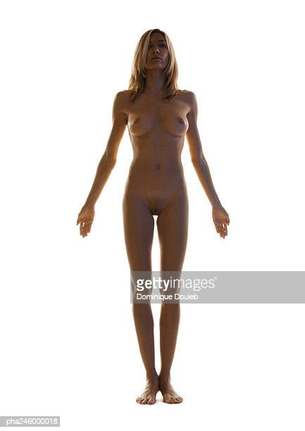 nude woman - corps femme photos et images de collection