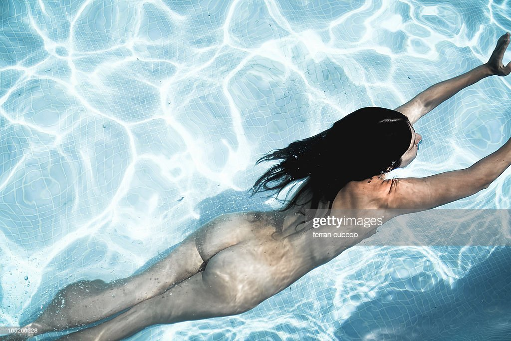 swimming pool nude