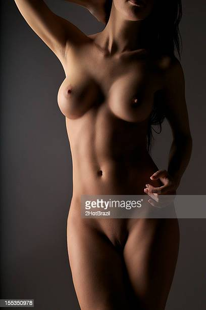 nude young woman - hot babe stockfoto's en -beelden