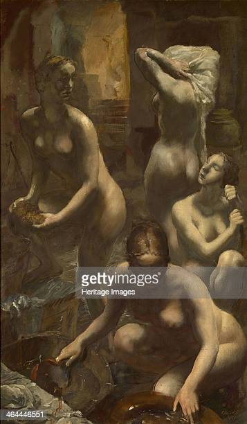 Nudes Bathing 1929 From a private collection