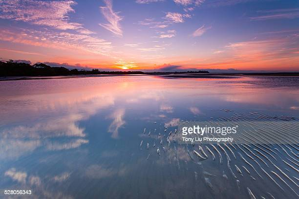 Nudgee Beach sunset