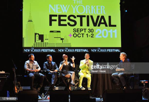 Nudisco/dance band 'Scissor Sisters' members Babydaddy Del Marquis Ana Matronic and Jake Shears speak to The New Yorker's stuff writer John Seabrook...